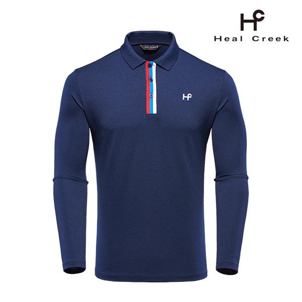 (남성)배색 원포인트 티셔츠_1HCTSF8001-NA