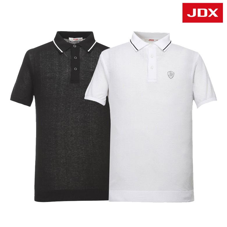 (남성)에리 니트 반팔 티셔츠_X2PMSPM31