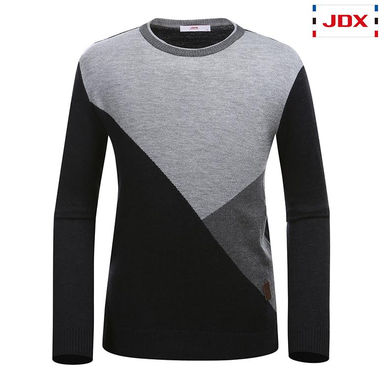 (남성)캐시미어 블랜딩 컬러 블럭 인타샤 스웨터_X2PWSPM01-MG