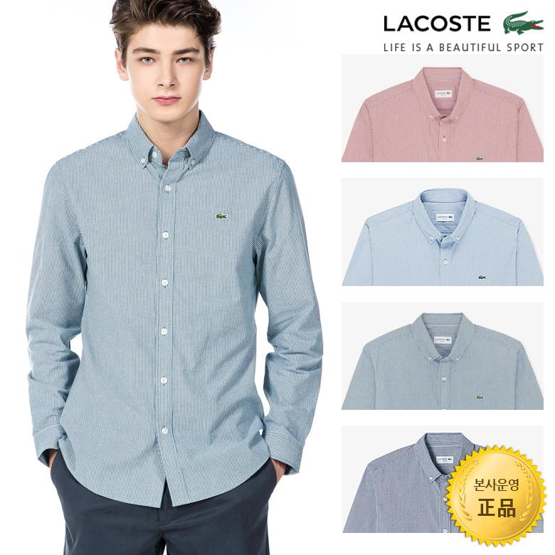 (남성)버티컬 스트라이프 셔츠_CH180E-19C