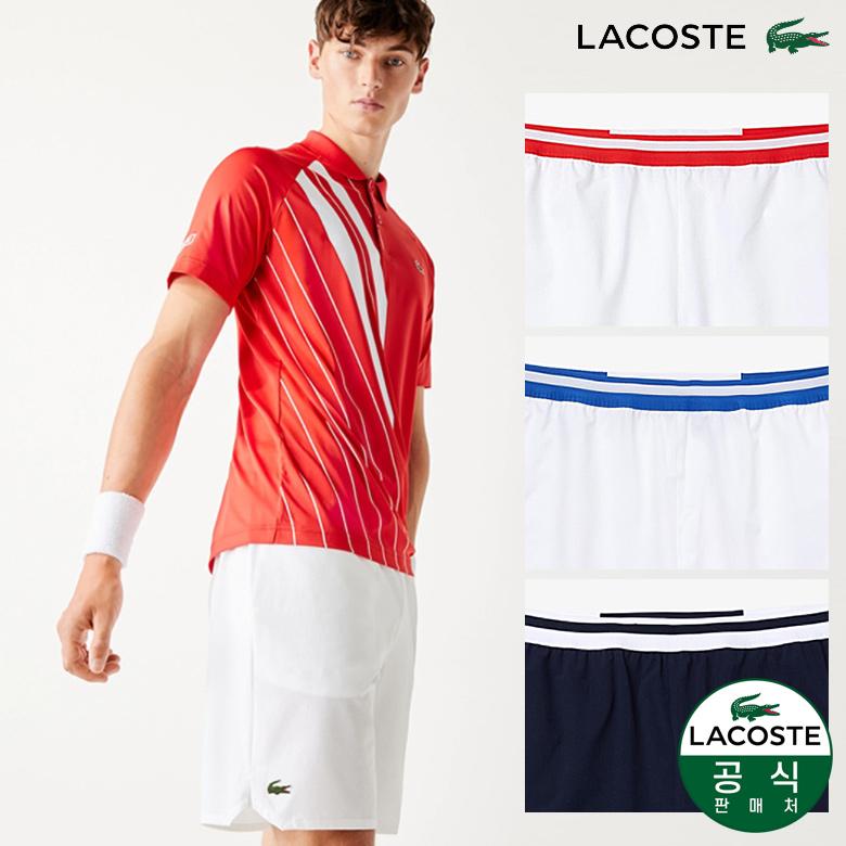 (남성)Novak Djokovic 태피터 숏 팬츠_GH4001-20C