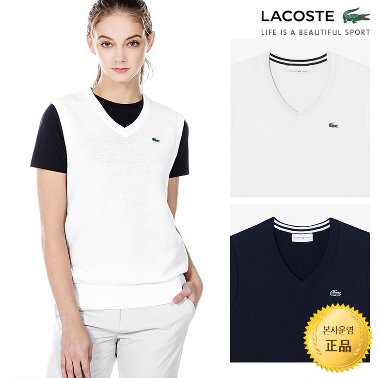 (여성)브이넥 골프 스웨터 베스트_AF902E-19A