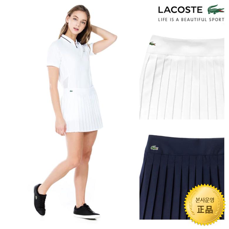 (여성)스포츠 테니스 기능성 메쉬 플리츠 스커트_JF9541-19B