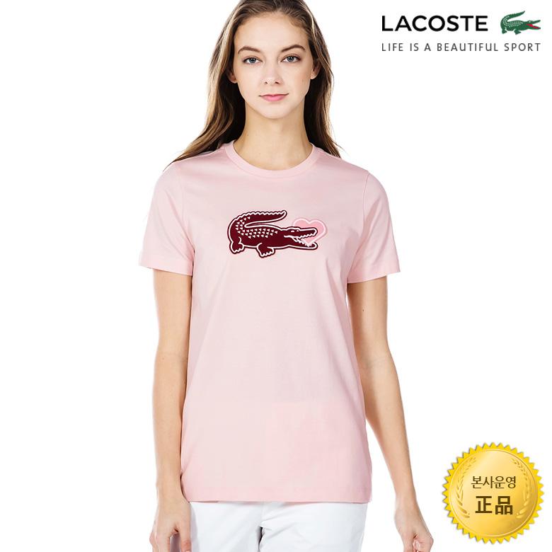 (여성)반팔 슬림핏 티셔츠 LCST_TF6284-19B
