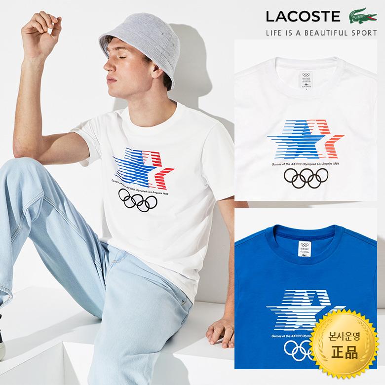 (남성)Olympic Heritage Collection 크루넥 티셔츠_TH4183-19B