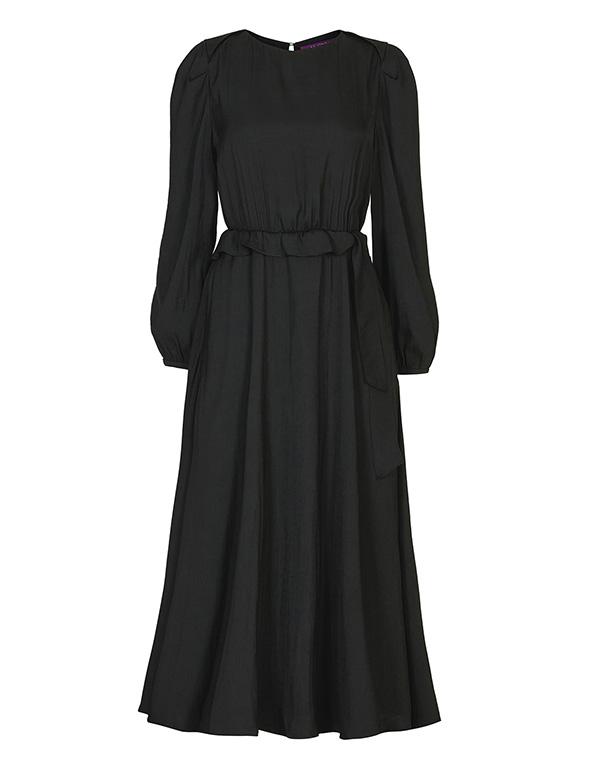 포인트 슬리브 드레스_MJF1OP3000