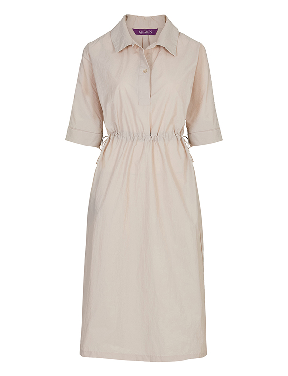 웨이스트 스트링 드레스_MJM1OP3310