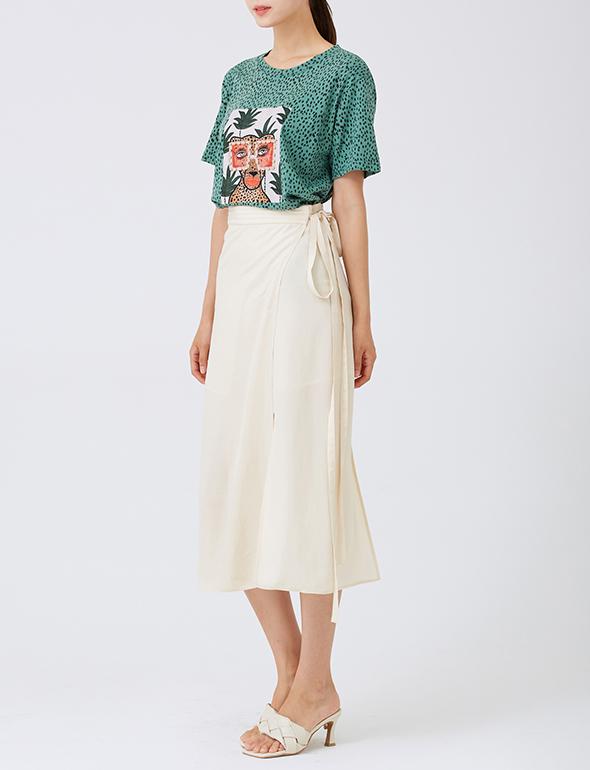 치타 패턴 티셔츠_MJM1TS6720