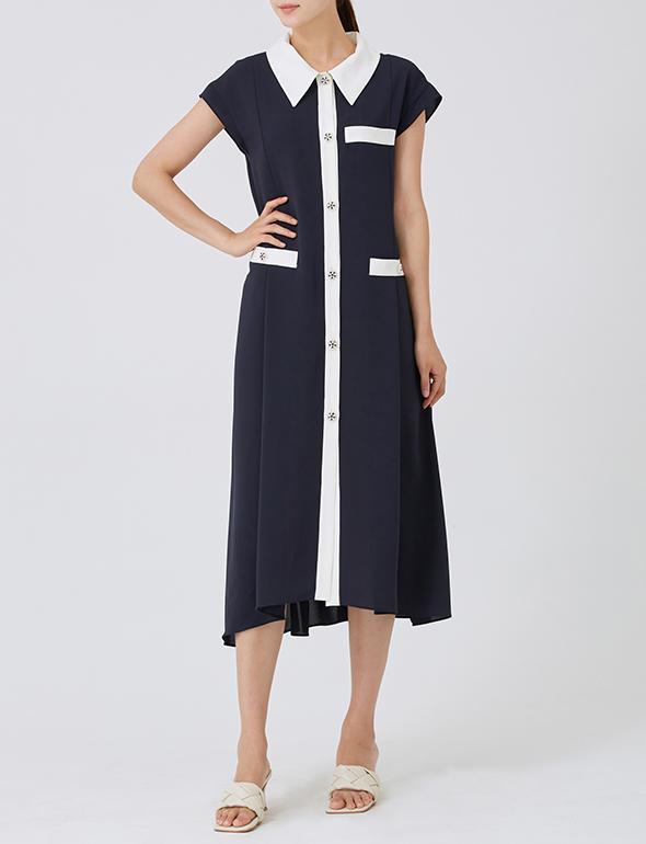 컬러블록 드레스_MJM6OP3000