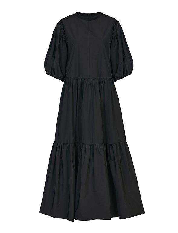 코튼 셔링 드레스_MJS1OP3070