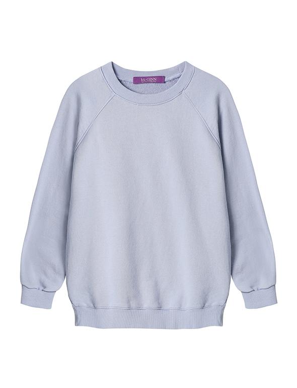 8부 소매 스웻 티셔츠_MJS1TS6530